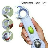 Jual Promo   Kitchen can do 7 in 1 / pembuka botol dan kaleng Murah