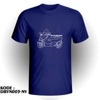 Harga baju kaos distro murah otomotif motor yamaha nmax | antitipu.com