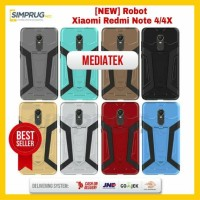 Case Xiaomi Redmi Note 4X Mediatek Note 4 Armor Robot Hybrid Sniper X