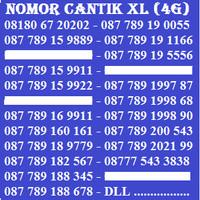 Jual Kartu Perdana Nomor Cantik No Cantik XL Simpati AS Indosat Axis Im3 Murah