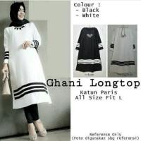Fashion S7 Baju Atasan Blouse Tunik Wanita Baju Muslim Blus Muslim Gh