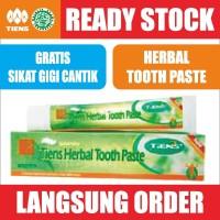 Harga tiens herbal toothpaste asli pasta gigi odol tianshi tooth | Pembandingharga.com