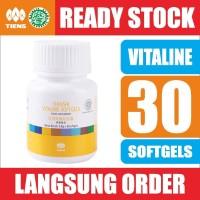 Tiens VITALINE Softgel Isi 30 - ori - Vitamin Kulit Tianshi