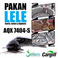 terbaru Jirifarm 09396 Pakan Lele Cargill AQX7404 S 1kg u benih lele
