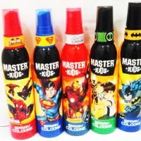master kids spray cologne 100ml /parfum master kids