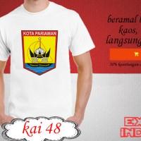 Kaos desain KOTA indonesia kota pariaman KAI 48