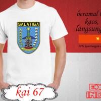 Kaos desain KOTA indonesia kota salatiga KAI 67