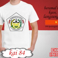 Kaos desain KOTA indonesia kota lhokseumawe KAI 84