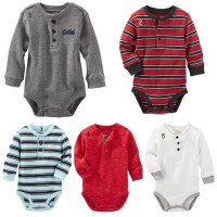THERMAL HENLEY BODYSUIT OSHKOSH ORIGINAL - JUMPER BAYI