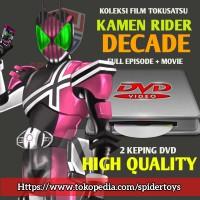 DVD Film Kamen Rider DECADE Lengkap