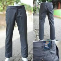 GAP Khakis Tailored Straight Fit Dark Grey Striped Original