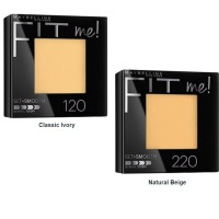 MAYBELLINE Fit Me! Set + Smooth Pressed Powder (Classic Ivory)