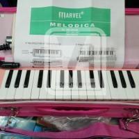 Jual Pianika marvel BIRU dan PINK box ORIGINAL 100% Berkualitas Murah