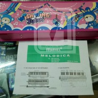 Jual Pianika marvel PINK box ORIGINAL 100% Berkualitas Murah