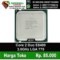 Processor Intel Core 2 Duo E8400 3.0GHz LGA 775