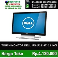 TOUCH MONITOR DELL IPS P2314T 23 INCI RESOLI FULL HD 1920X1080