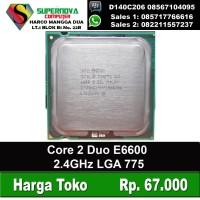 Processor Intel Core 2 Duo E6600 2.4GHz LGA 775
