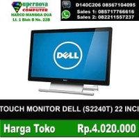 TOUCH MONITOR DELL S2240T 22 INCI RESOLI FULL HD 1920X1080