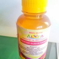 Harga madu murni alifa lebah budidaya nektar bunga karet 180gr asli | Pembandingharga.com