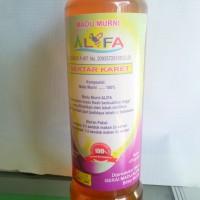 Harga madu murni alifa lebah budidaya nektar bunga karet 470gr asli | Pembandingharga.com