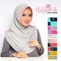 Jual Hijab Instant Isaura Two Tone Gms61 Murah