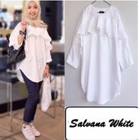 Harga baju atasan kemeja tunik wanita cewek lengan panjang blouse | Pembandingharga.com