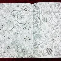 Jual Restok Buku mewarnai secret garden fun and joy coloring book Murah