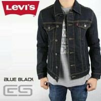 Harga terbatas jaket jeans levis bkue black murah harga | Pembandingharga.com