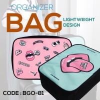Tas Trendy Organizer Bag - Ringkas - Multifungsi - BGO-81 (ZC)