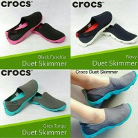harga Sepatu Crocs Duetskimmer Flat Tokopedia.com