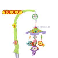 Tololo Musical Mobile / Rainforest / mainan gantung baby box