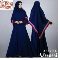 murah baju muslim gamis ummi syari / fanta gamis modern adem di pakai