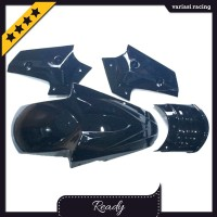 spakbor depan yamaha nmax warna hitam variasi motor racing modifikasi