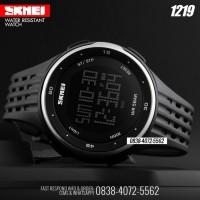 1219 Black Silver | Jam Tangan SKMEI Original Water Resistant