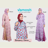 Jual bruneey dress by vamosh Murah