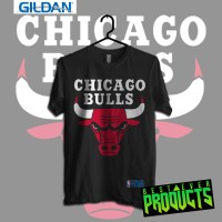 Nba - Chicago Bulls Kaos Sport Original Gildan