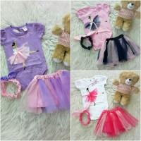 Jual Jumper dress headband dancing ballerina baju bayi anak Murah
