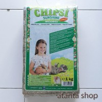 Chipsi - 1kg rumput kering makanan kelinci / meadow hay