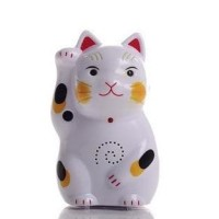 Jual Best Fortune Lucky Cat Infrared Sensor Welcome Electronic Doorbell Murah