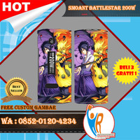 [Original] Garskin Smoant Battlestar 200W Free Custom Gambar - Naruto