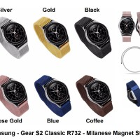 Jual Samsung Gear S2 Classic R732 - Strap Milanese Loop Band Stainless Tali Murah