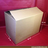 Jual Kardus Polos P23SW (60x37x45cm) Murah