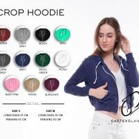 Jual Crop Hoodie Murah