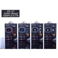 Headset SONY HS-37 Earphone Musik Handsfree Universal