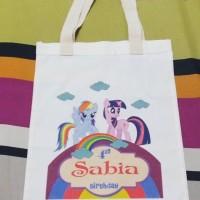 Tas / Pouch / Ransel / Tote Bag  Belacu / Blacu - Little Pony Theme