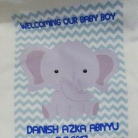 Tas / Pouch / Ransel / Tote Bag  Belacu / Blacu - Gajah / Elephant