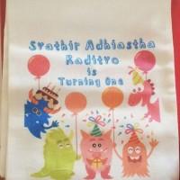 Tas / Pouch / Ransel / Tote Bag  Belacu Blacu - Party Monster Birthday