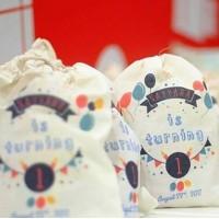 Tas / Pouch / Ransel / Tote Bag  Belacu / Blacu - Birthday Souvenir