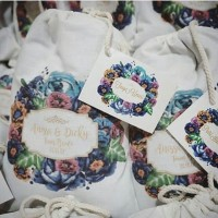 Tas / Pouch / Ransel / Tote Bag  Belacu / Blacu - Wedding Souvenir