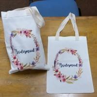 Tas / Pouch / Ransel / Tote Bag  Belacu / Blacu - Bridesmaid / Flower